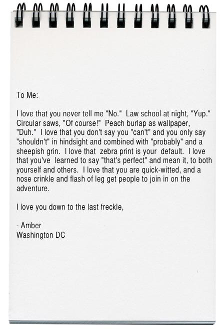 Amber Letter