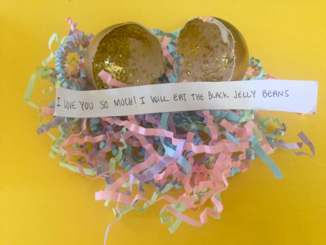 Easter Egg Message