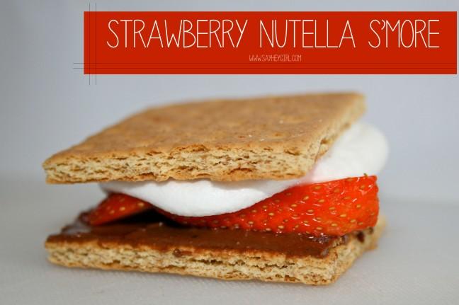 Strawberry Nutella