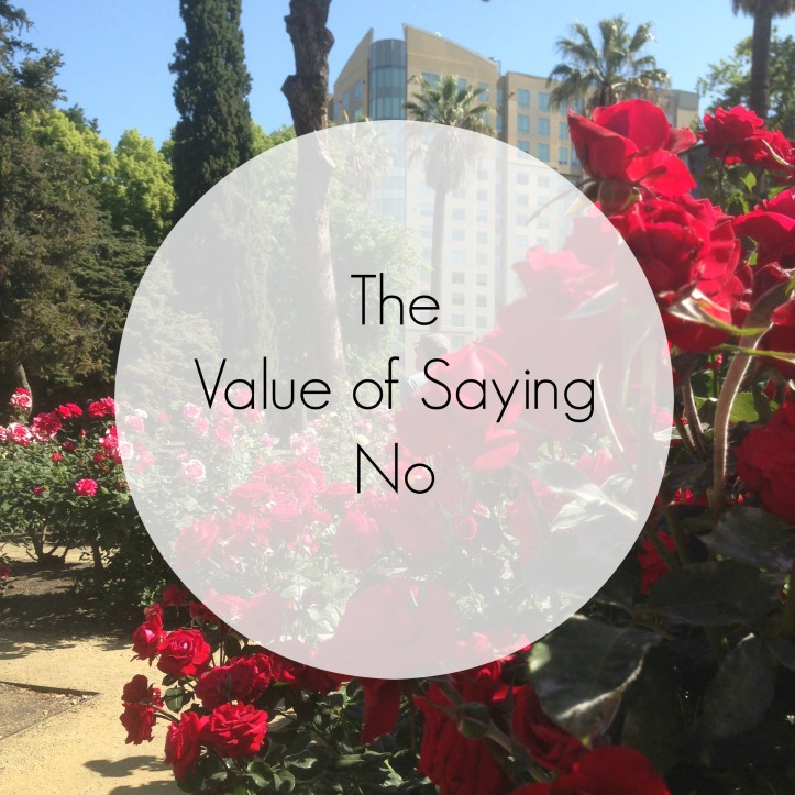 ValueofSayingNo